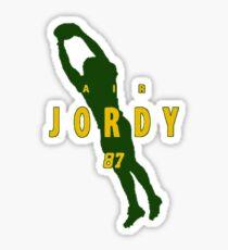 Air Jordy Sticker
