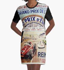 Gran Prix de LACF, Reims, 1959, originales Vintage-Poster T-Shirt Kleid