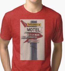 Deano's Motel Tri-blend T-Shirt