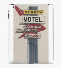 Deano's Motel iPad Case/Skin