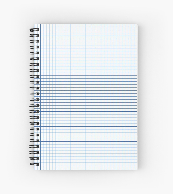 u0026quot graph paper u0026quot  spiral notebook by feraloidies