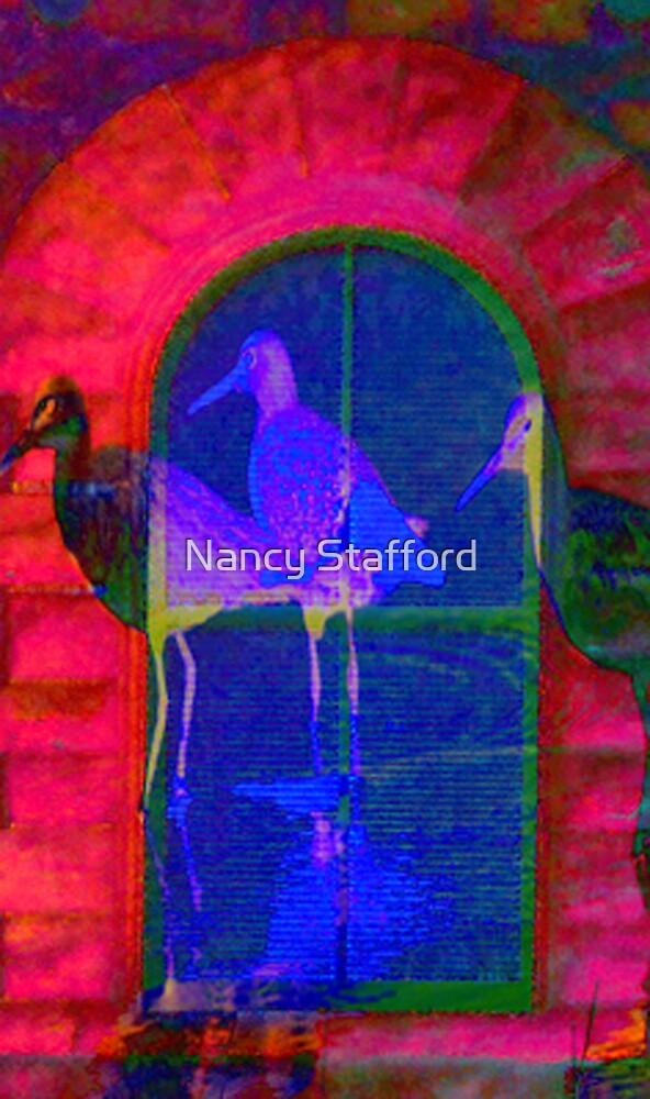 In the window by Nancy Stafford