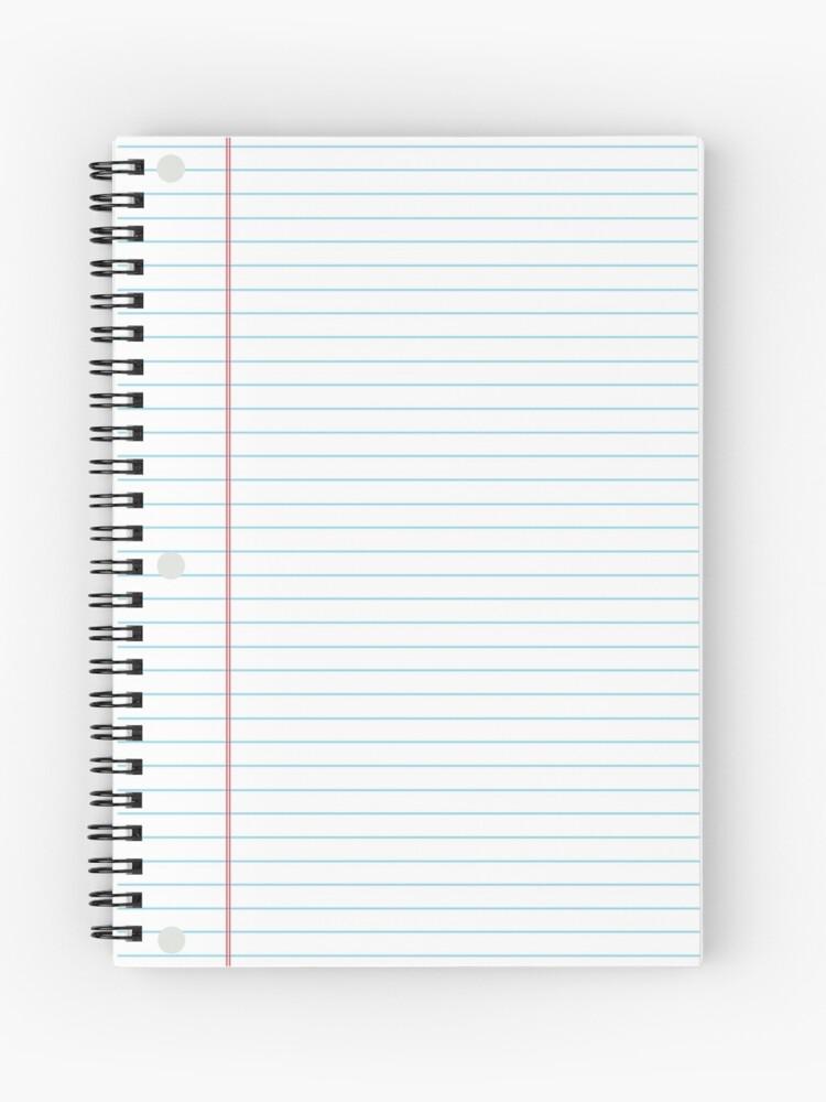 College Ruled Binder Paper | Spiral Notebook
