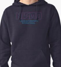Retro Nismo Nissan Motorsport International Logo Pullover Hoodie