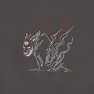 Dream-Eyed Wolf by skollipsism