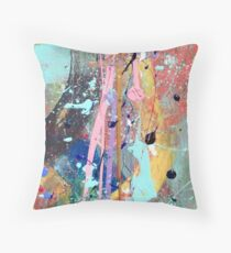 One tree river Throw Pillow