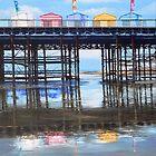 Pier Reflections by Paula Oakley