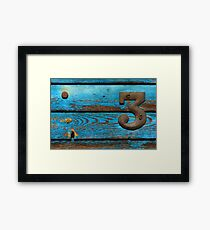 The smallest weird number... Framed Print