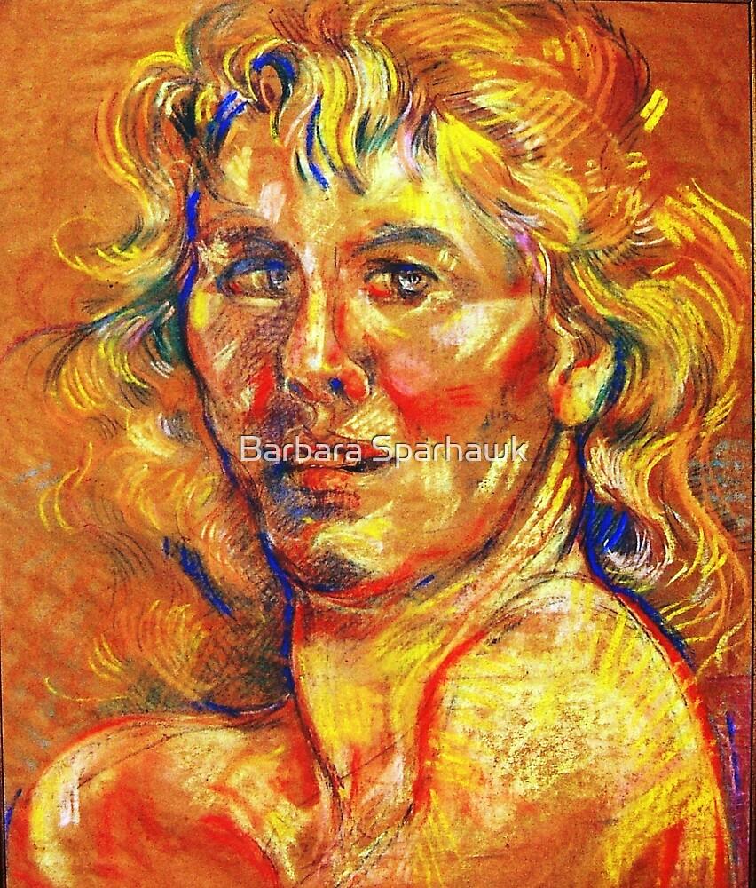 Self-Portrait of the Artist by Barbara Sparhawk