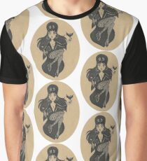 Gothic Enchanted Lady Graphic T-Shirt
