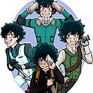 Deku Squad by Rei-Rei13
