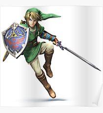 Legend of Zelda badass Poster