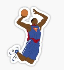 Dwight Howard Superman Dunk Sticker
