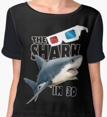 The Shark Movie Women's Chiffon Top