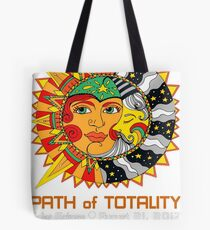 SOLAR ECLIPSE, PATH OF TOTALITY SOLAR ECLIPSE Tote Bag
