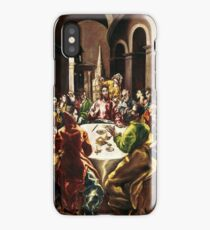 The Feast in the House of Simon 1608 - 1614 El Greco iPhone Case/Skin