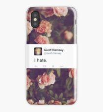 I Hate. iPhone Case/Skin