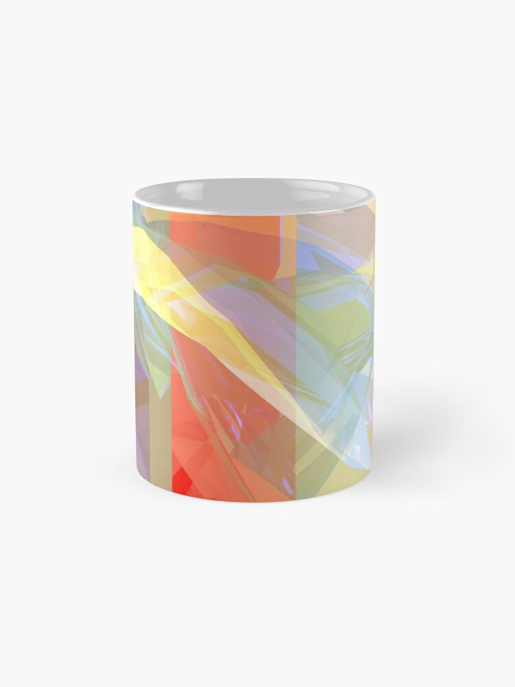 Alternate view of Sunlight Through Curtains Mug