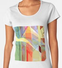Sunlight Through Curtains (intense) Women's Premium T-Shirt