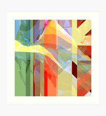Sunlight Through Curtains (intense) Art Print