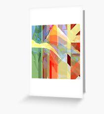 Sunlight Through Curtains (intense) Greeting Card