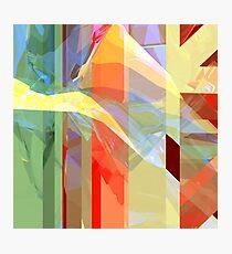 Sunlight Through Curtains (intense) Photographic Print