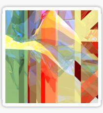 Sunlight Through Curtains (intense) Sticker