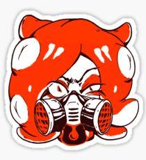 GET THAT SQUID! Radically crazy Octo girl Sticker