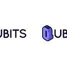 Qubits (analogue + blue) by thisleenoble