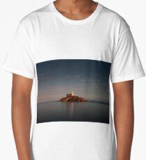 Tranquil evening at Mumbles lighthouse Long T-Shirt