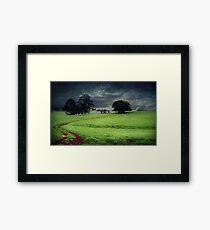 A stormy day in Dorrigo Framed Print