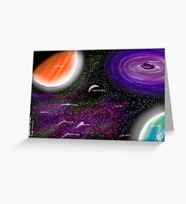 Space, The Final Frontier... Greeting Card