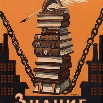 Knowledge Will Break the Chains of Slavery by Spottyfriend