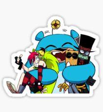 big o hug  Sticker