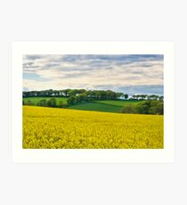 West Lothian Landscape II Art Print