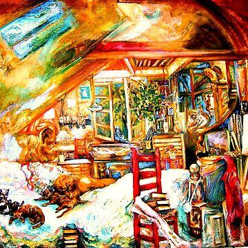 The Studio & Spirits Dream by Hawkski