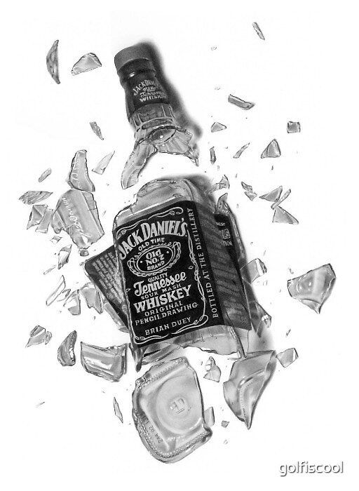 Intoxicated - Pencil Drawing by golfiscool