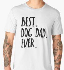 Best Dog Dad Ever Men's Premium T-Shirt