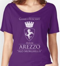 Game of Tuscany - Arezzo Women's Relaxed Fit T-Shirt