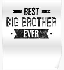 Best Big Brother Ever Poster