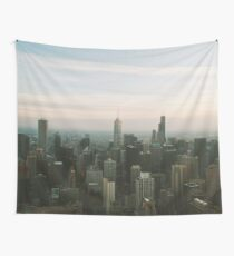 URBAN EXODUS 360 CHICAGO UNITED STATES MODERN PRINTING 1Pc #27222276 Wall Tapestry