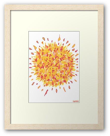 1709 - Burning Sun In Yellow von tigerthilo