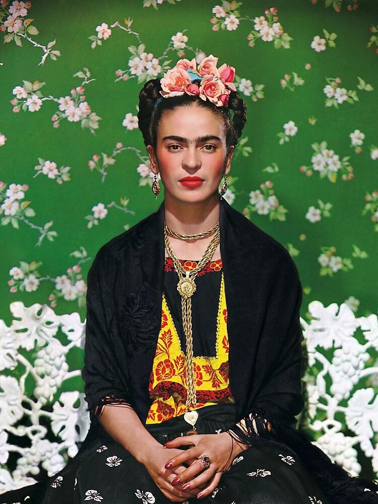 Frida Kahlo Vouge Cover-Poster von hoher Qualität von simonZan