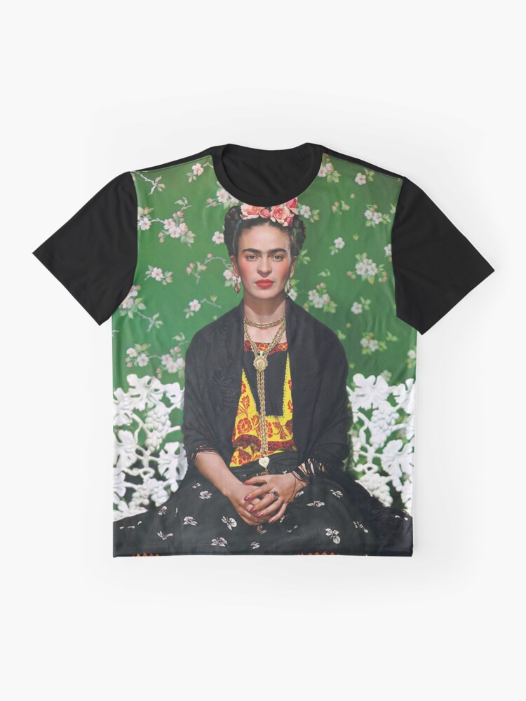 Alternative Ansicht von Frida Kahlo Vouge Cover-Poster von hoher Qualität Grafik T-Shirt