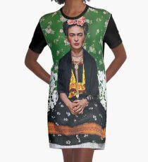 Vestido camiseta Póster de la cubierta de Frida Kahlo Vouge de alta calidad
