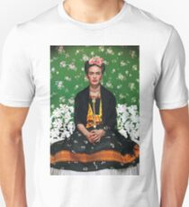 Frida Kahlo Vouge Cover poster high quality T-Shirt