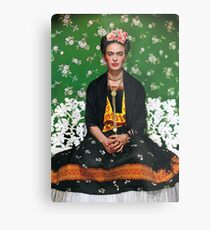 Frida Kahlo Vouge Cover poster high quality Metal Print
