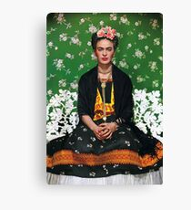 Frida Kahlo Vouge Cover poster high quality Canvas Print