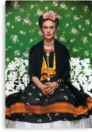 Frida Kahlo Vouge Cover poster high quality by simonZan