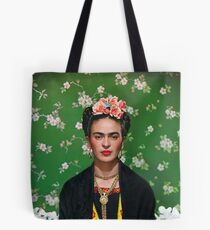 Frida Kahlo Vouge Cover poster high quality Tote Bag